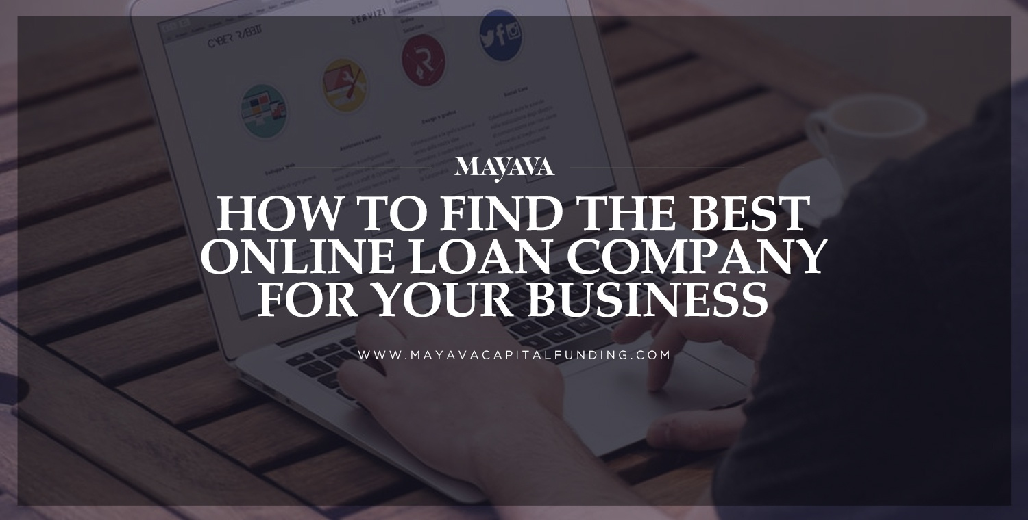 How to Find the Best Online Loan Company for Your Business
