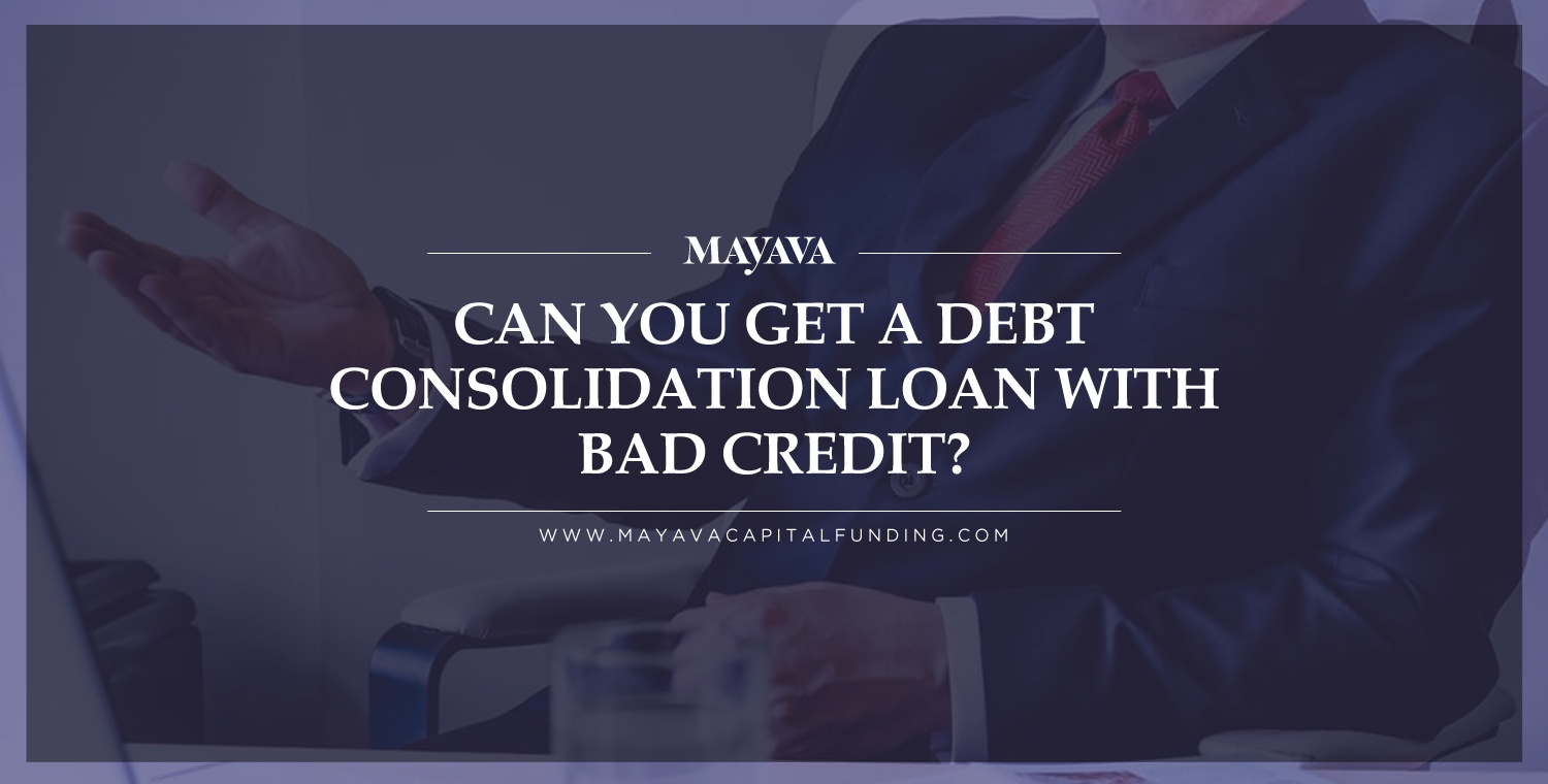 Loans for consolidating bills with bad credit