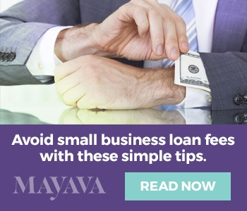 small business loan fees